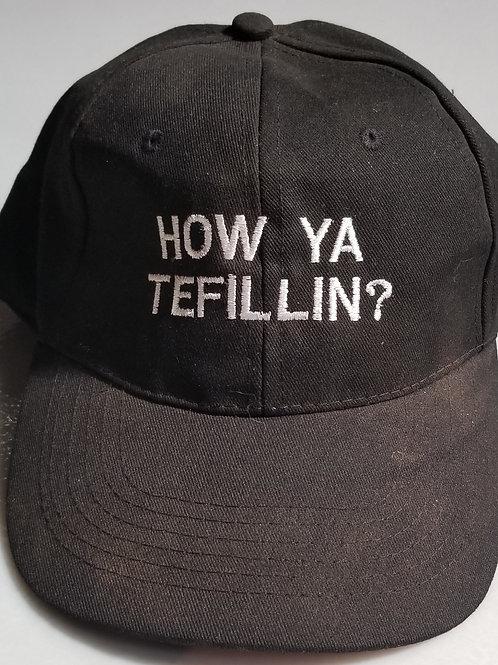 How Ya Tefillin?