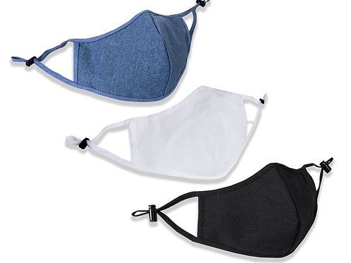 Adjustable Masks with Filter Pocket (1 of each)