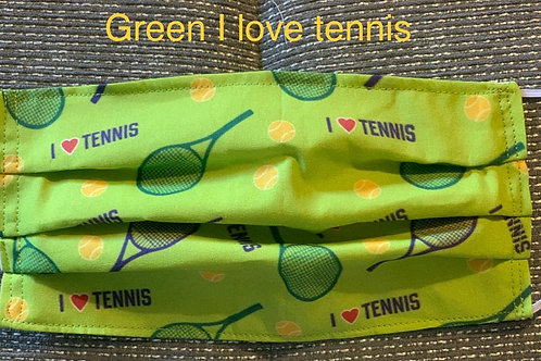 Green I Love Tennis!