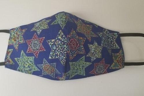 Mosaic Jewish Star