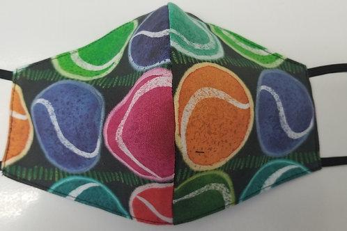 Tennis Balls (Child's Mask)