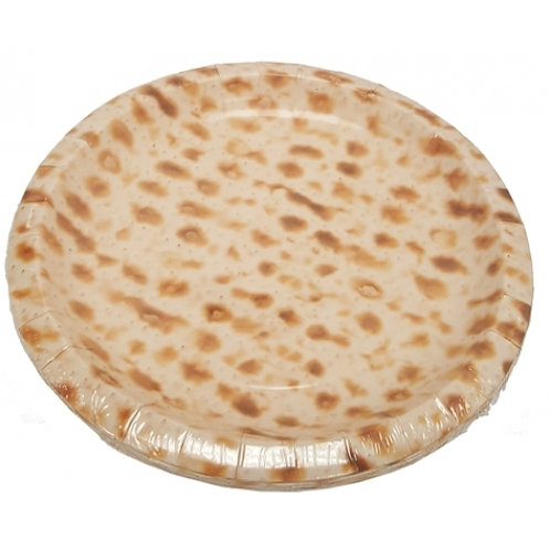 "Matzah 7"" Plates - Pack of 8"