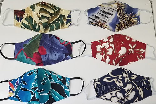 Tropical Masks (6 Pk.)