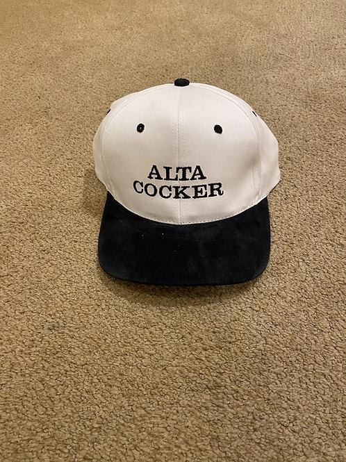 Alta Cocker - White & Black