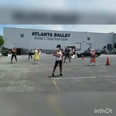 Nicole + Atlanta Ballet Staff