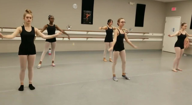 Academy of Ballet Students