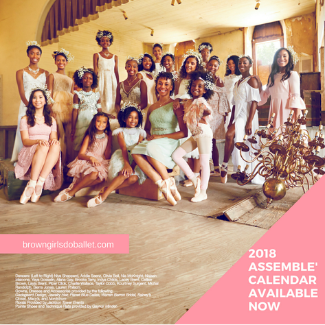 "Brown Girls Do Ballet ""We Assemblé"" Calendar (2018)"