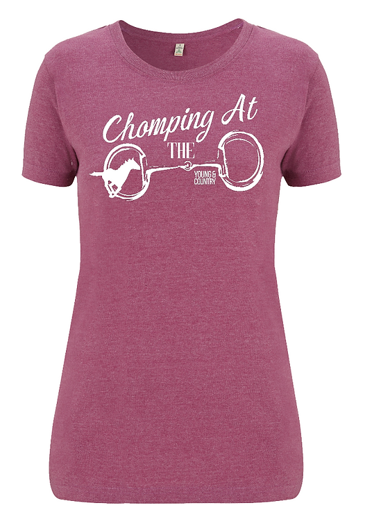 WOMENS 'CHOMPING AT THE BIT' - PLUM