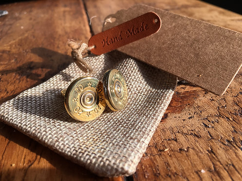 24ct Gold Plated - Recycled Shogun Cufflinks