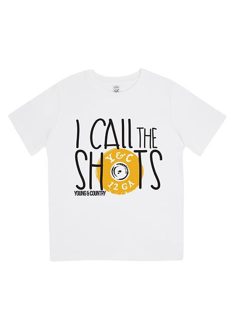KIDS 'I CALL THE SHOTS' - WHITE