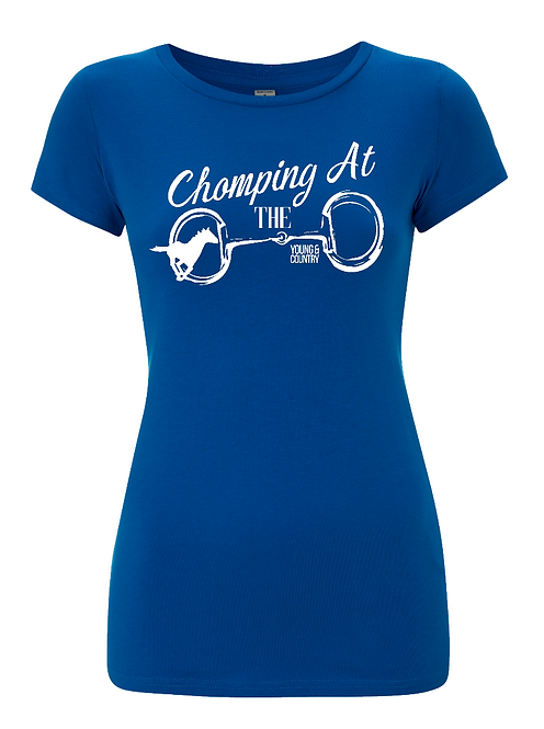 WOMENS 'CHOMPING AT THE BIT' - BLUE