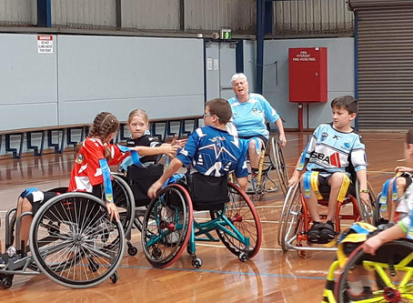 NRL Wheelchair National Challenge Development Success