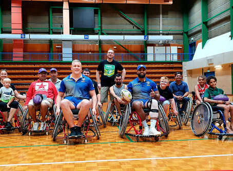 NRL Wheelchair Rolling Strong in Darwin