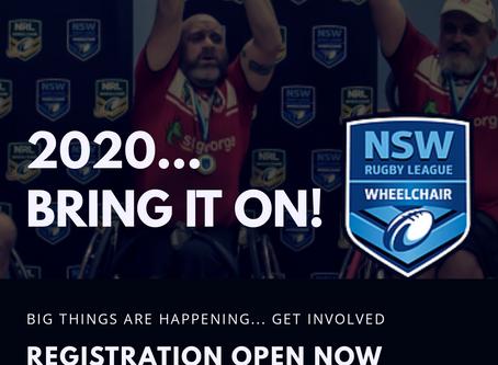 NSWWRL 2020 - GET INVOLVED