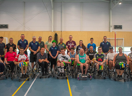 Wheelchair Rugby League Hits Canberra