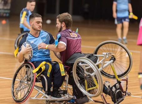Wheelchair State of Origin gives people of all abilities the chance to go head to head