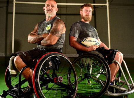 'How Wheelchair Rugby League Clawed Me Out Of A Dark Space'