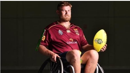 Townsville Wheelchair Rugby League players vie for State of Origin spot