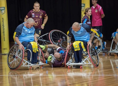 NSW WHEELCHAIR RL NEW ORIGIN COACH