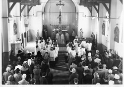 SS Peter and Paul Mitcham old photo