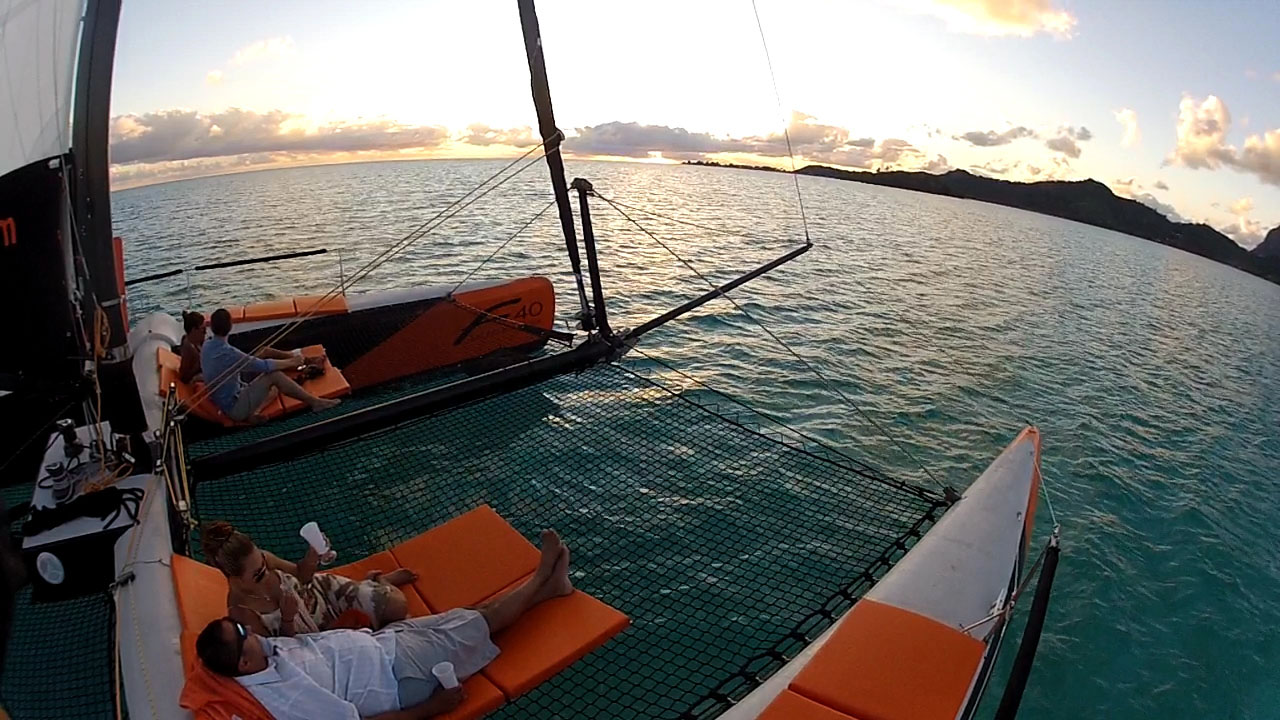 Shared Sunset Sail
