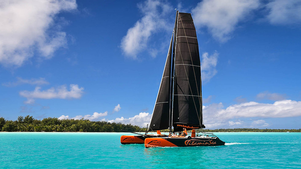 Vitamin Sea Catamaran Bora Bora