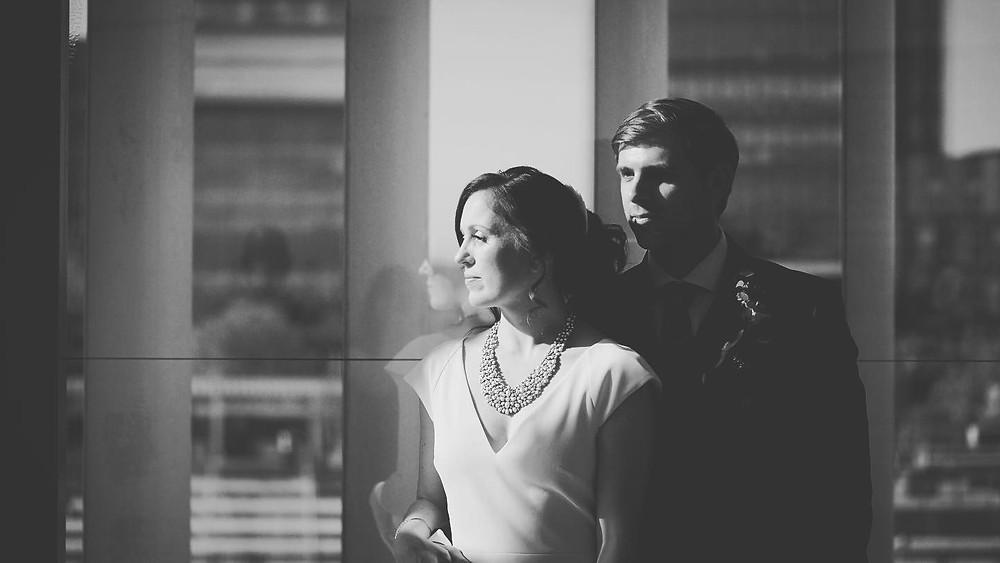 bride groom shadows