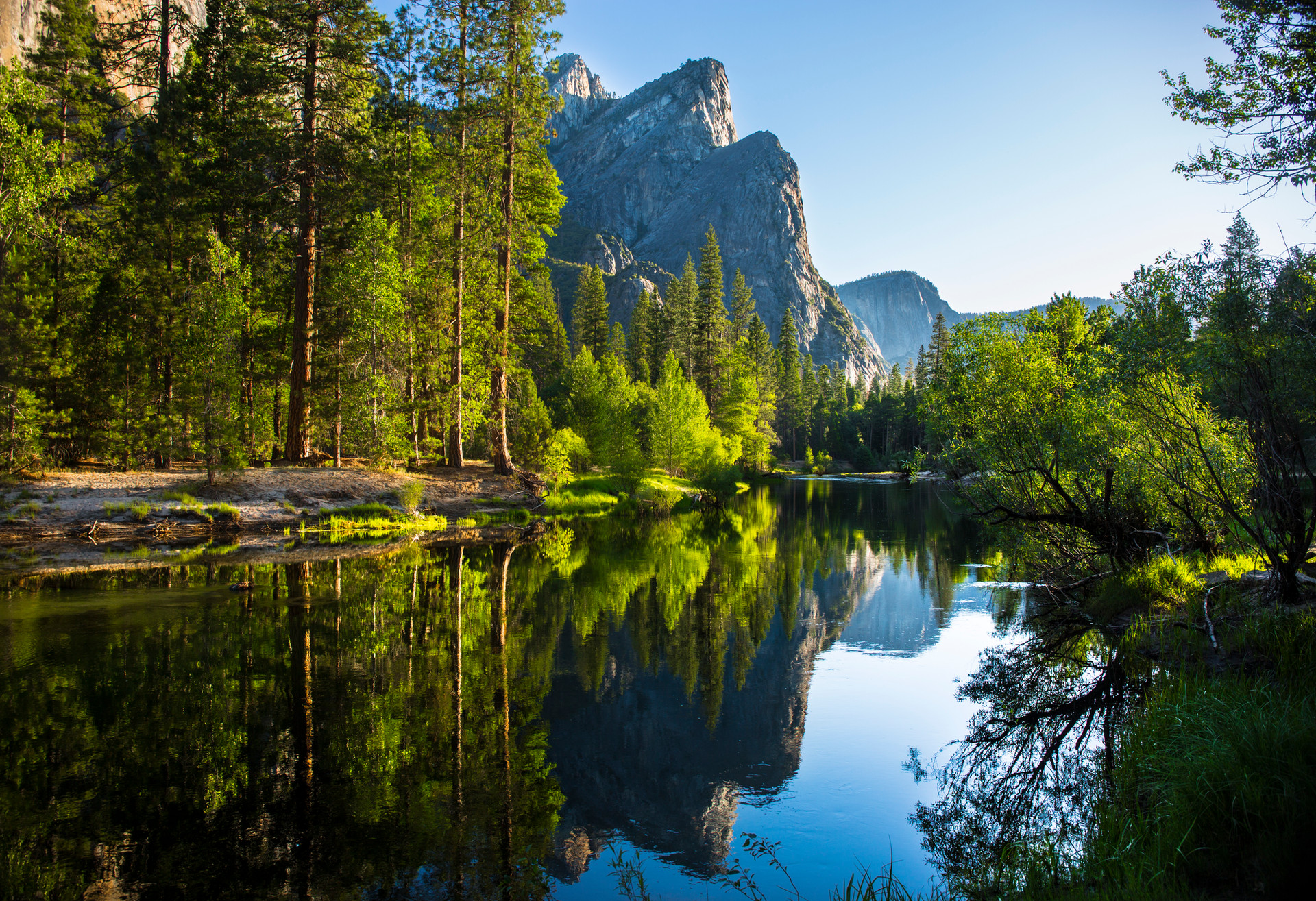 Greg Harlow Media Photography Three Brothers, Yosemite
