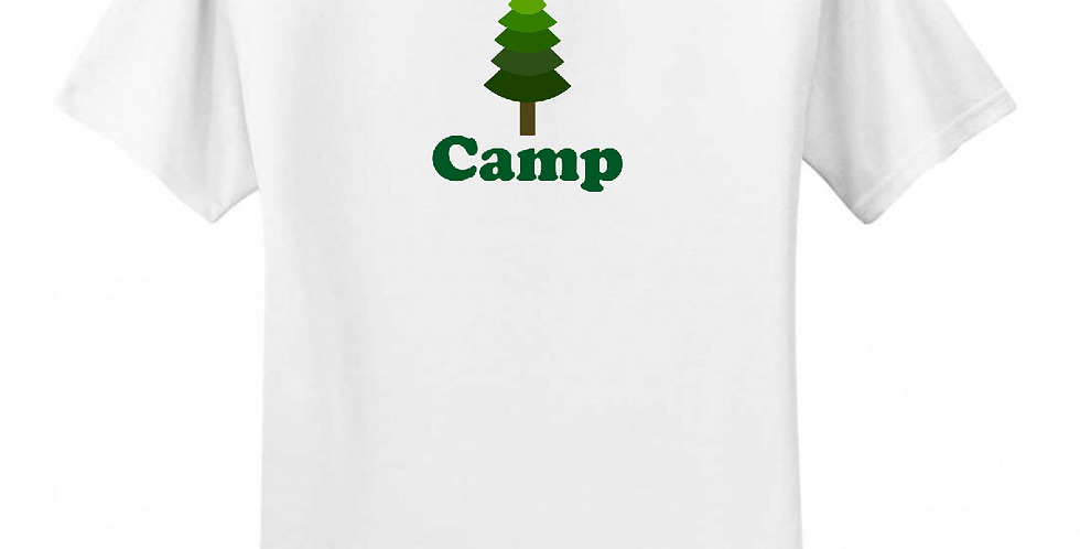 Greg Harlow Media Shop, Camp Shirt White Front View