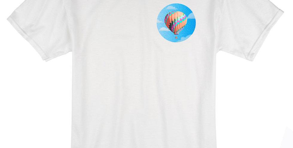 Greg Harlow Media Shop, Media Balloon Shirt White Front View