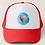 Greg Harlow Media Shop, Media Balloon Trucker Snapback Mesh Hat Cap Red