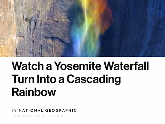 National Geographic publishes Yosemite Video, 200 Million Views