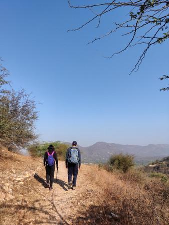Hiking Trails in Jaipur Hathnikund
