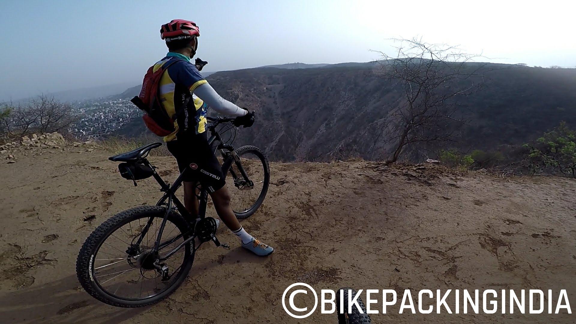 Ride to Monkey Temple - Jaipur