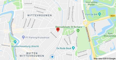 Waar vind ik Vitrus mediation Utrecht?