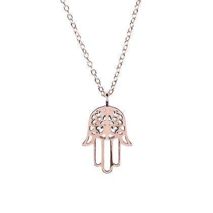 Cosmic Hamsa Necklace
