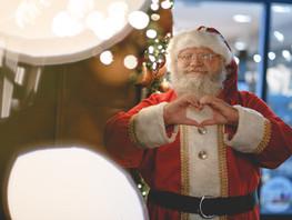 Santa Makes Preparations to Safely Meet Children in Katy