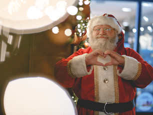 Santa Makes Preparations to Safely Meet Children in Katy