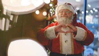 The Socially Distanced Santa Tour comes to Hillingdon