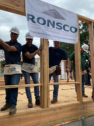 RONSCO is proud to participate in building Habitat for Humanity of Suffolk's 200th home!