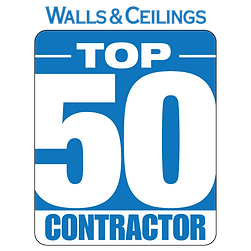 RONSCO is selected as Top 50 Wall & Ceiling Contractor in USA!