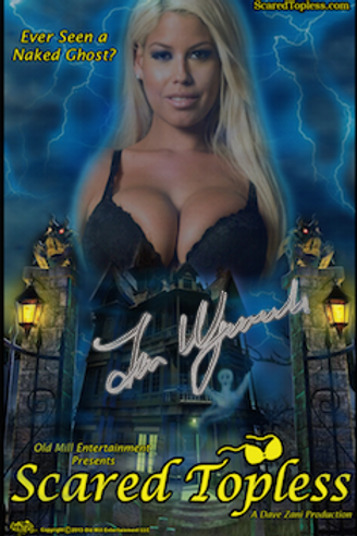 Scared Topless  DVD - Signed by Director Jim Wynorski