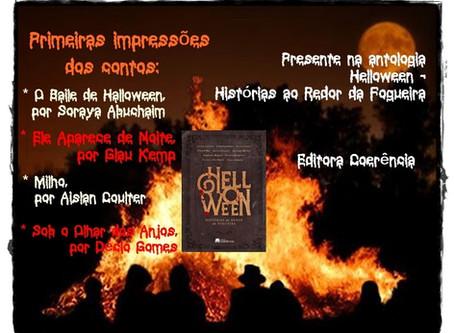 """[Primeiras impressões do livro """"Helloween – Histórias ao Redor da Fogueira"""", Editora Coerência]."""