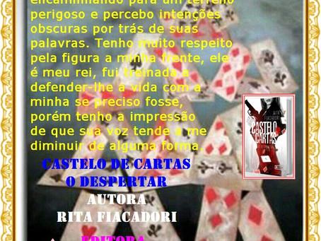 Indicando: Castelo de Cartas - O Despertar - Rita Fiacadori