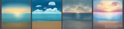 Matte Paint Skies