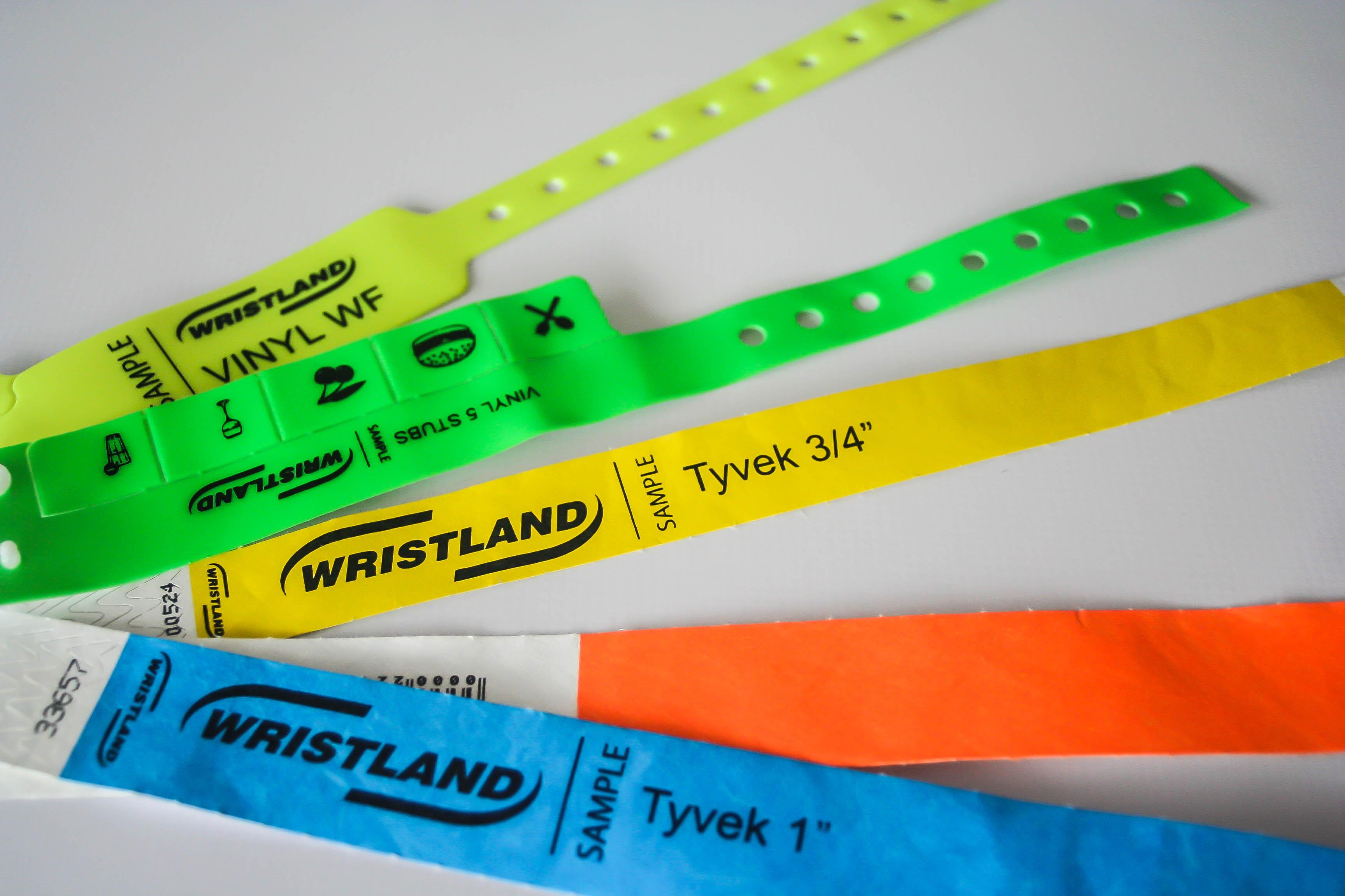 Bracelets événementiel