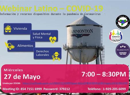 Webinar Latino - COVID 19