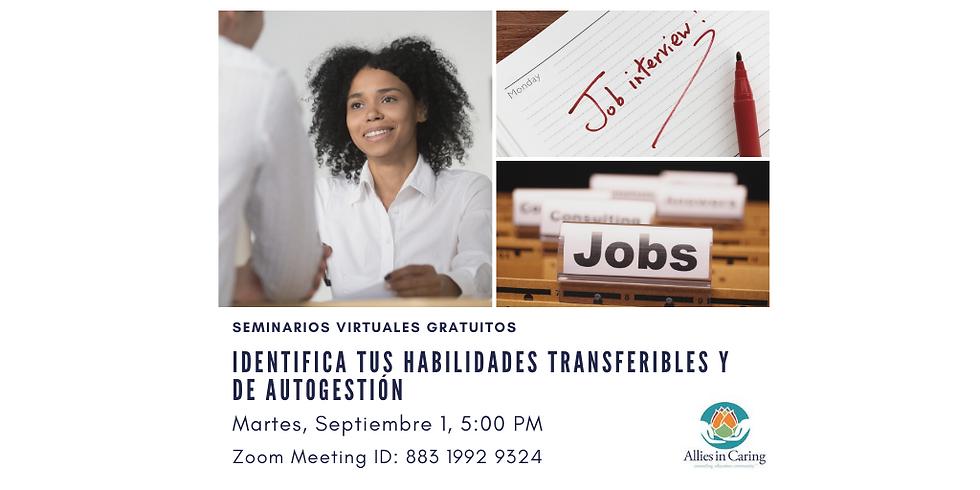 Identifica tus habilidades transferibles y de autogestión