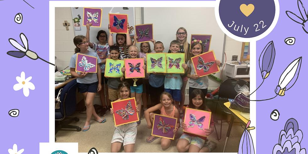 Free Summer Art Program for kids in Hammonton, NJ