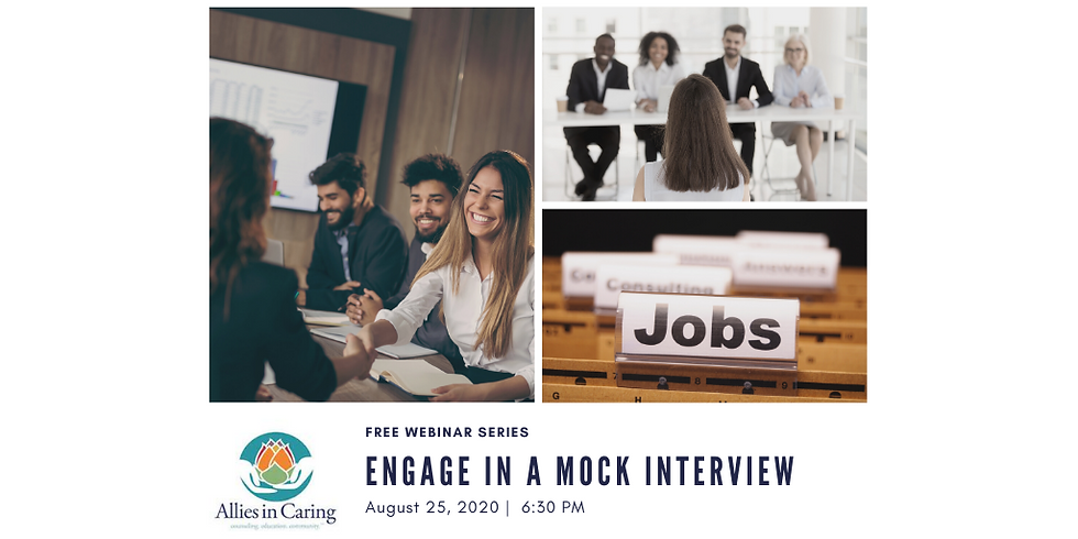 Engage in a mock interview